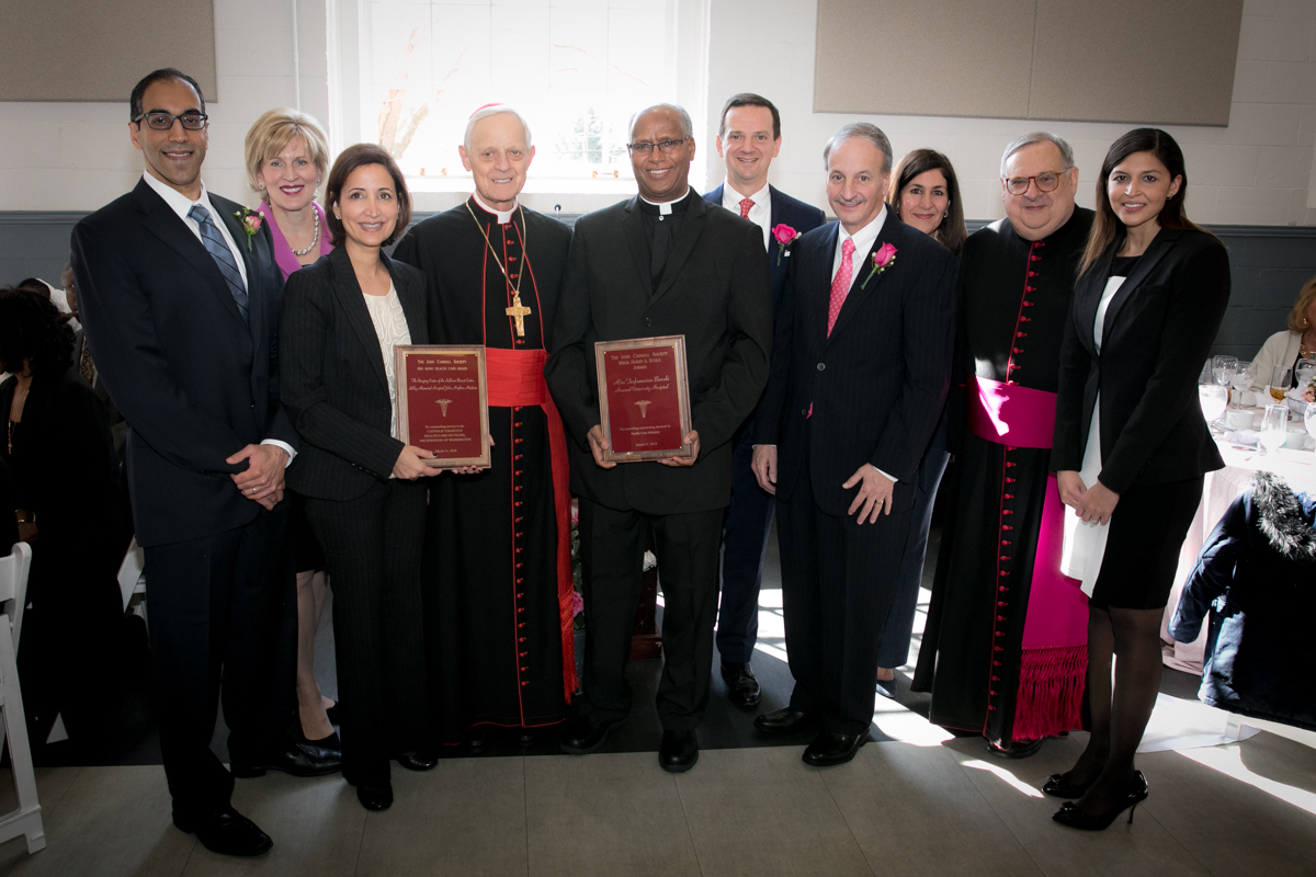 The 2018 Rose Mass Luncheon and Pro Bono Health Care Award Ceremony.