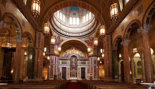 The Cathedral of St. Matthew the Apostle.